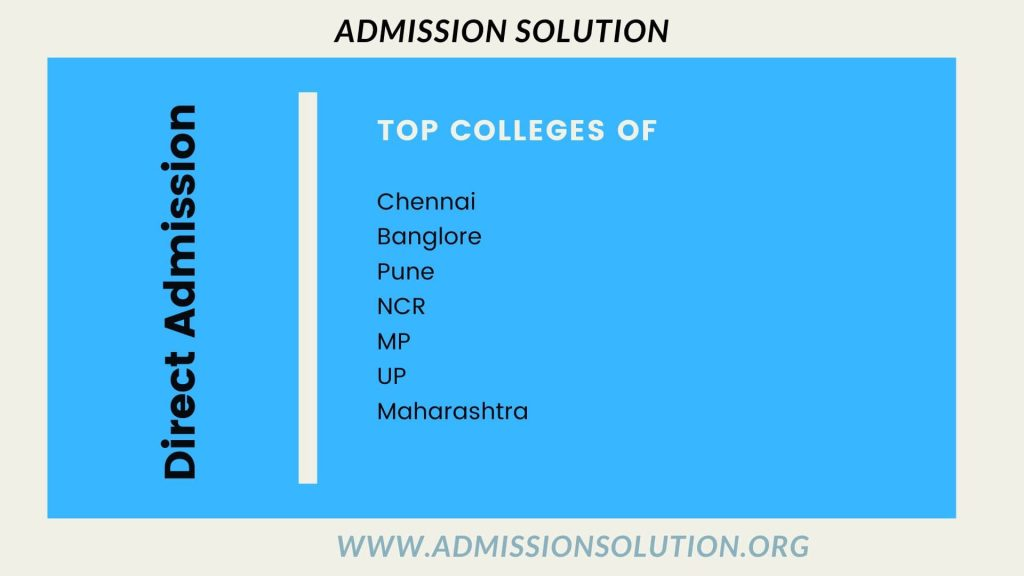 Direct admission in top Engineering colleges