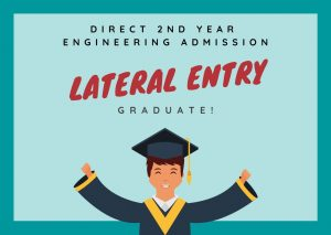 Direct 2nd year Engineering Admission