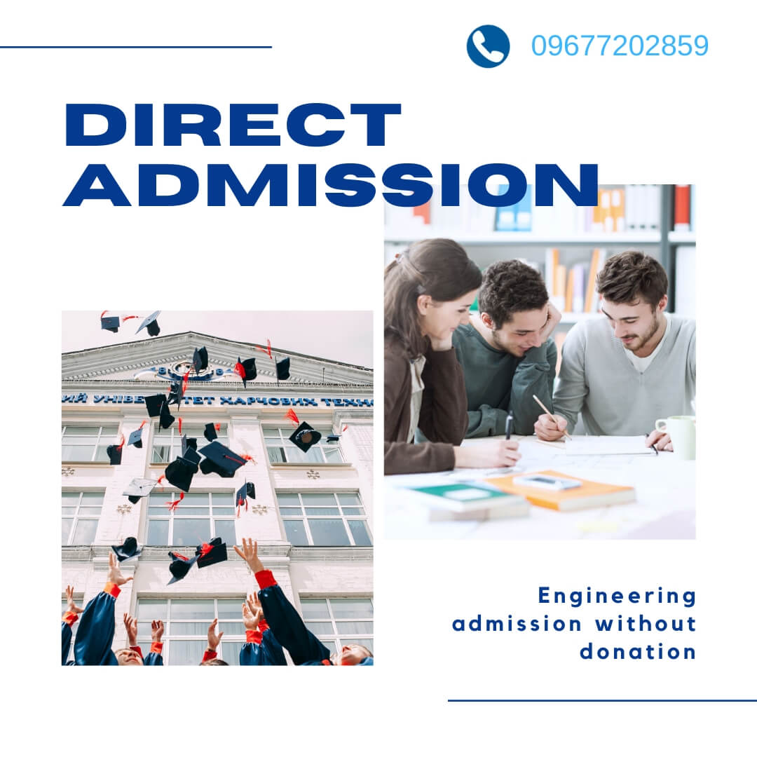 Direct admission without Donation
