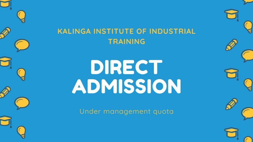 KIIT Direct admission
