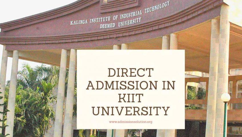 Direct admission in KIIT University